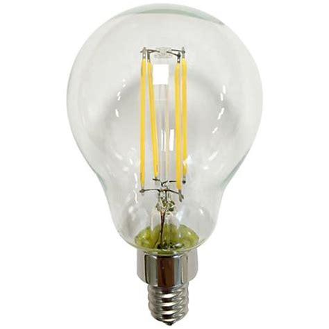 60 watt edison style candelabra base light bulb