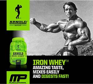 Musclepharm Arnold Schwarzenegger Series Iron Whey Review
