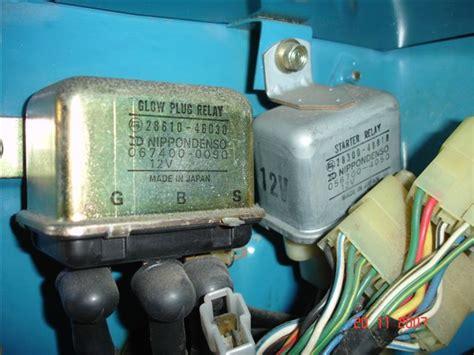 Internal Wiring Glow Relay Manual