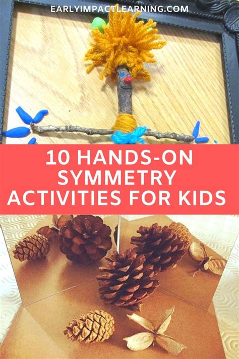 symmetry activities  kids  hands  ideas  pics