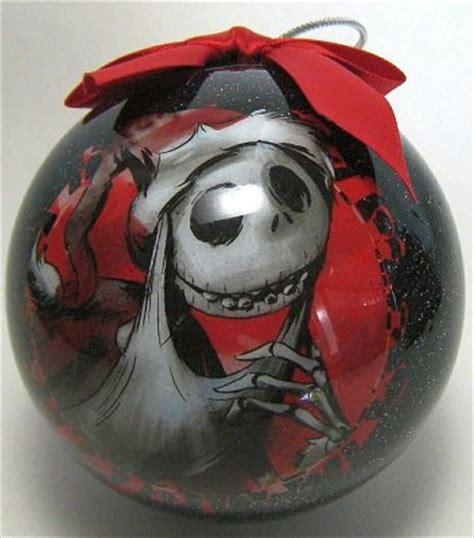 santa jack skellington decoupage ornament backed