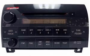 New 07 08 09 2010 Toyota Tundra Sequoia Radio Cd Player