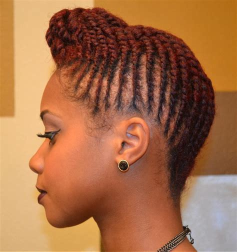 Two Strand Twist Updo Hairstyles by Updo Flat Twist 2 Hair For Sista S