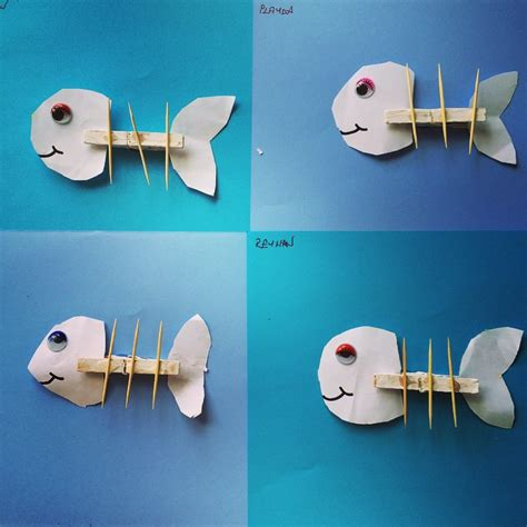 Clothespin craft idea for kids Crafts and Worksheets for