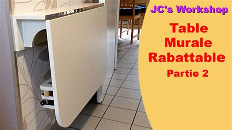 table de cuisine murale rabattable comment faire une table de cuisine murale rabattable 2 2