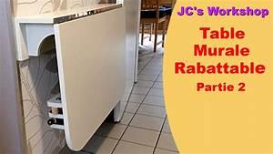 Table Murale Cuisine : comment faire une table de cuisine murale rabattable 2 2 travail du bois 4 youtube ~ Teatrodelosmanantiales.com Idées de Décoration