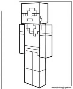 Minecraft Printable Coloring Pages Alex