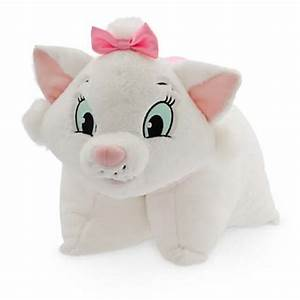 Disney Pillow Pet Marie The Cat Reverse Pillow Plush