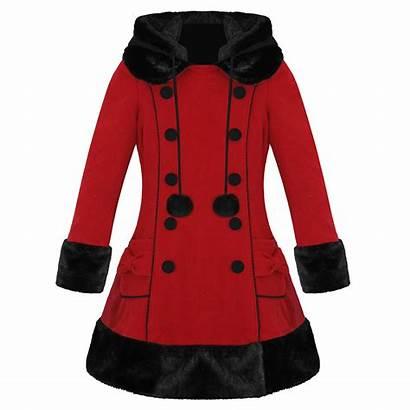 Coat Winter Fur Ladies Wool Sarah Emo