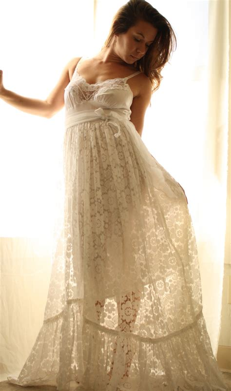 Rustic Romance Wedding Gown In Vintage lace | wedding gowns | Pinterest | Vintage lace Gowns ...