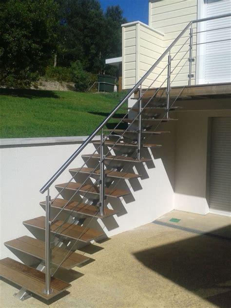Garde Corp Escalier Exterieur by Inox Pyr 233 N 233 Es Galerie Gt Ext 233 Rieur Gt Escalier Ext 233 Rieur