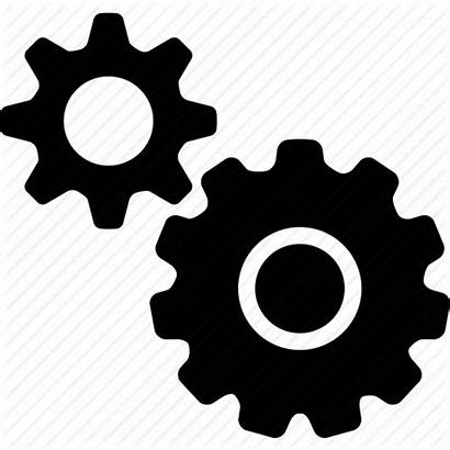Icon Gears Settings Setup Configuration Svg Icons