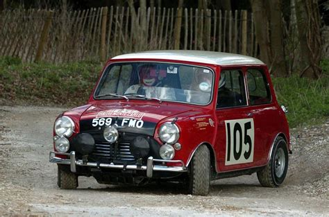 Mini Cooper S At The Monte Carlo Rally