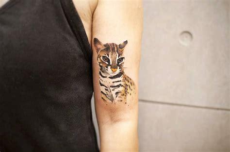 Wild Cat Tattoo