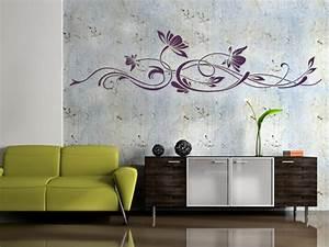 Pflanzen An Der Wand : wandtattoo blumen und pflanzen blume wandtattoos an der wand wand ~ Markanthonyermac.com Haus und Dekorationen
