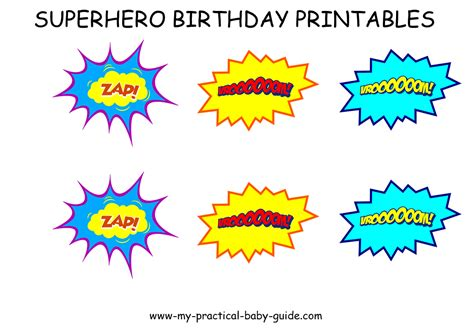 super hero heroine st birthday party  practical