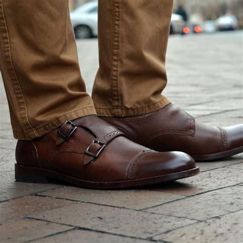 Clayton Double Monk Strap Johnston Murphy Fashion