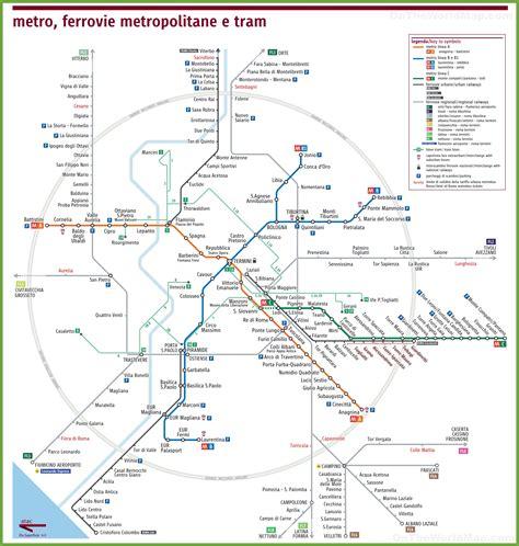 rome railway map