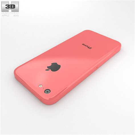 iphone pink apple iphone 5c pink 3d model humster3d