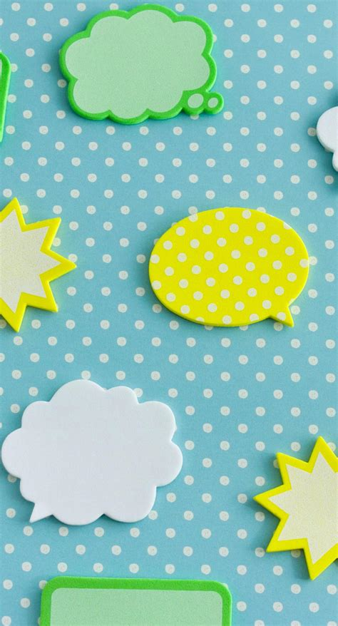 yellow green  blue balloon cute illustrations