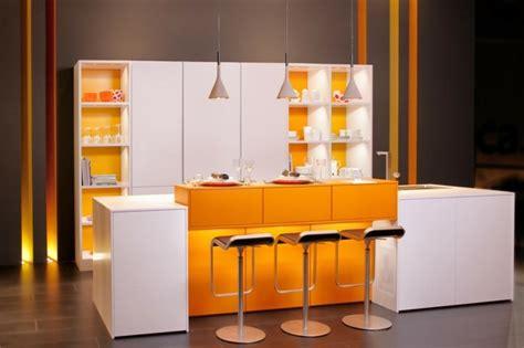 deco cuisine orange la cuisine déco contemporaine en 73 exemples
