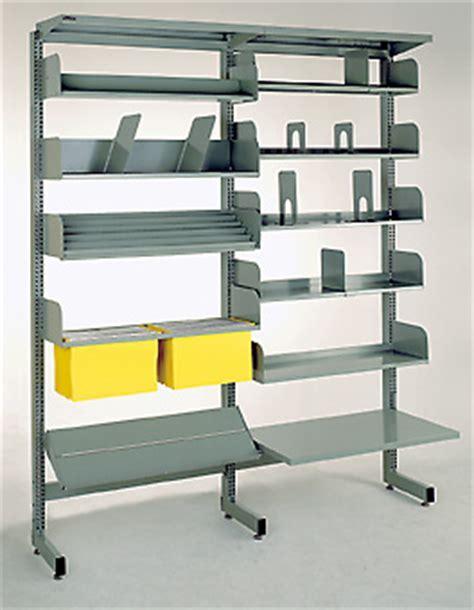 BROWNBUILT LIBRARY SHELVING   Equip Office Furniture