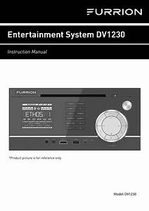 Furrion Dv1230 Rv Wall Mount Stereo User Manual