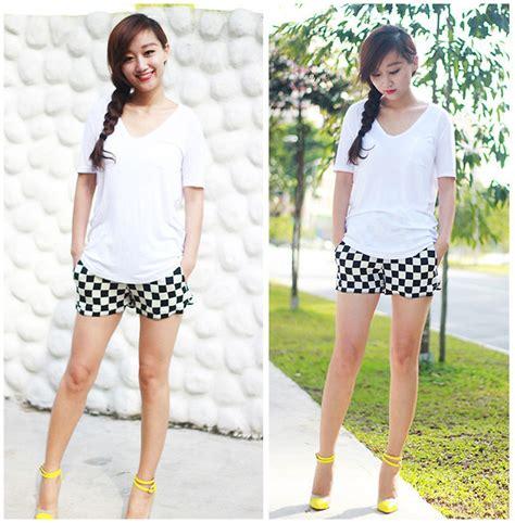 Belva Tunic belva p zara shorts christian louboutin heels easy