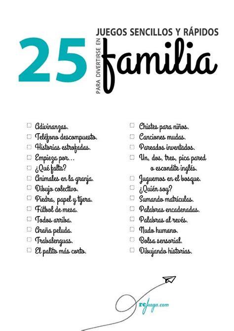 25 juegos para divertirse en familia rejuega y disfruta jugando