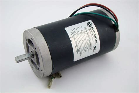 Electric Motor Magnets by Imperial Electric Permanent Magnet Dc Motor 33hp 3 4s