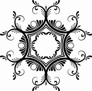 Clipart - Decorative Lineart 12