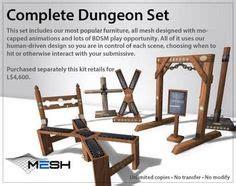 dungeon furniture plans