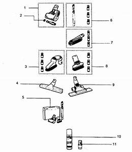 Dyson Model Dc27 Vacuum  Upright Genuine Parts