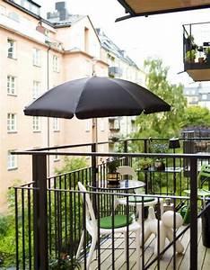 Sonnenschirm Für Kleinen Balkon : balkongestaltung 50 fantastische beispiele ~ Indierocktalk.com Haus und Dekorationen