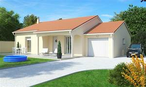 maison 3 chambres plain pied quartz logivelay With facade maison plain pied3