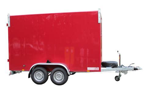 pkw kofferanhänger gebraucht pkw kofferanh 228 nger 183 anh 228 nger mit kofferaufbau 183 m 220 nz anh 228 nger