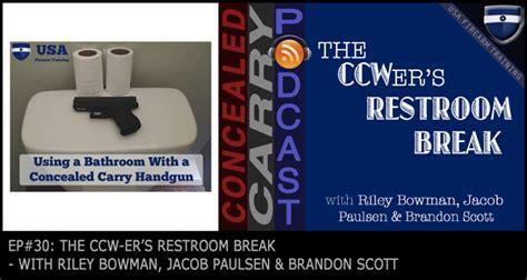 episode   ccwers restroom break concealed carry