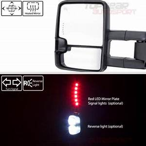 2017 Silverado Led Lights Gmc Sierra 2500hd 2015 2019 White Towing Mirrors Clear Led