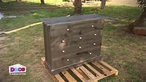 comment donner un effet metallise a un meuble en bois With donner un effet vieilli a un meuble