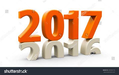 20162017 Change Represents New Year 2017 Stock