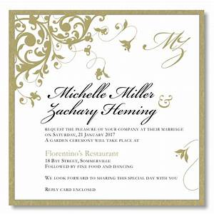 Wedding invitation templates zazzle http webdesign14com for Free wedding invitation samples zazzle