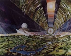 Space Colony Artwork 1970