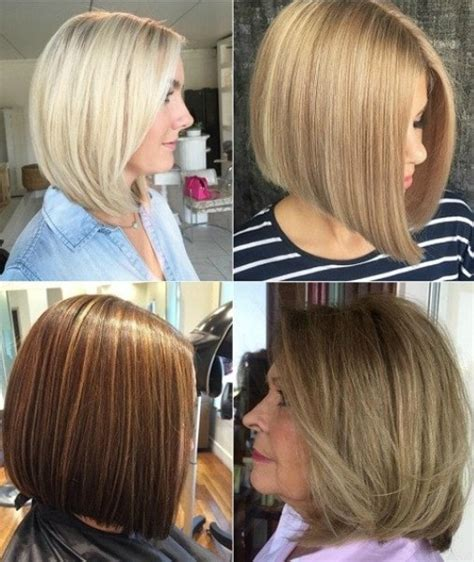 medium layered haircuts  women