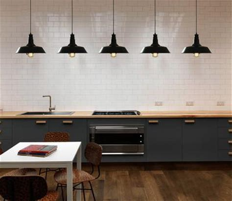 kitchen industrial lighting retro industrial pendant light in black tudo and co 1821