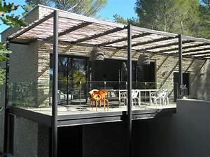 Tonnelle En Bambou : amenagement jardin pergola bois ~ Premium-room.com Idées de Décoration