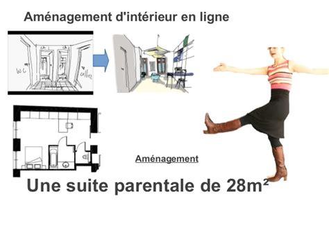 plan chambre parentale avec salle de bain plan suite parentale