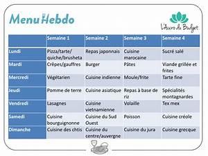 Cuisiner Pour La Semaine : organiser ses repas le guide ultime l 39 accro du budget ~ Dode.kayakingforconservation.com Idées de Décoration