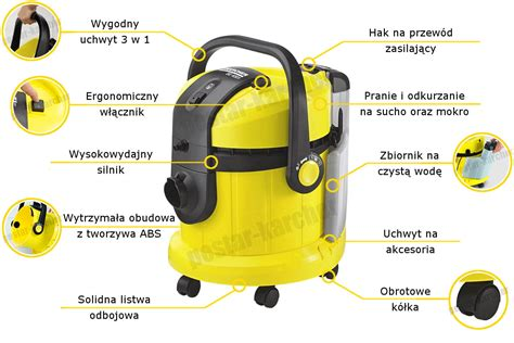 kärcher se 4001 se 4001 karcher odkurzacz piorący karcher center pestar