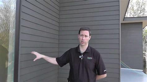 installing exterior foam  hardie plank andersen