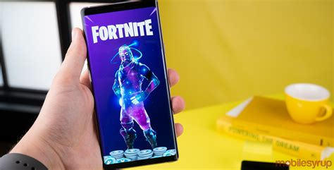 heres    fortnites exclusive samsung galaxy note